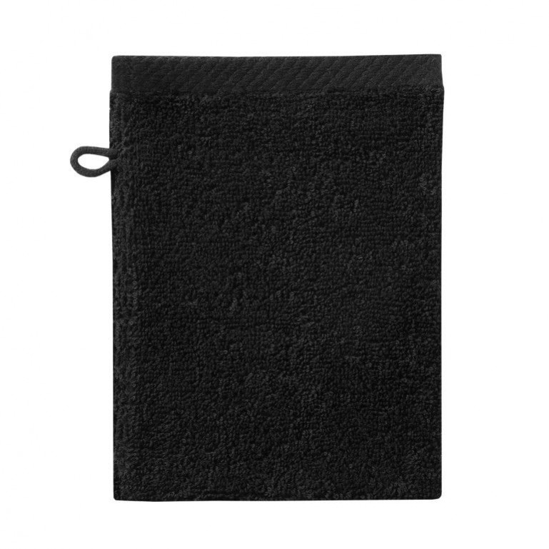 Washcloth Pure Black | Set of 3