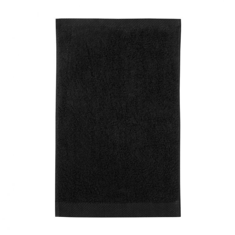 Guest Towel Pure Black | Set of 3