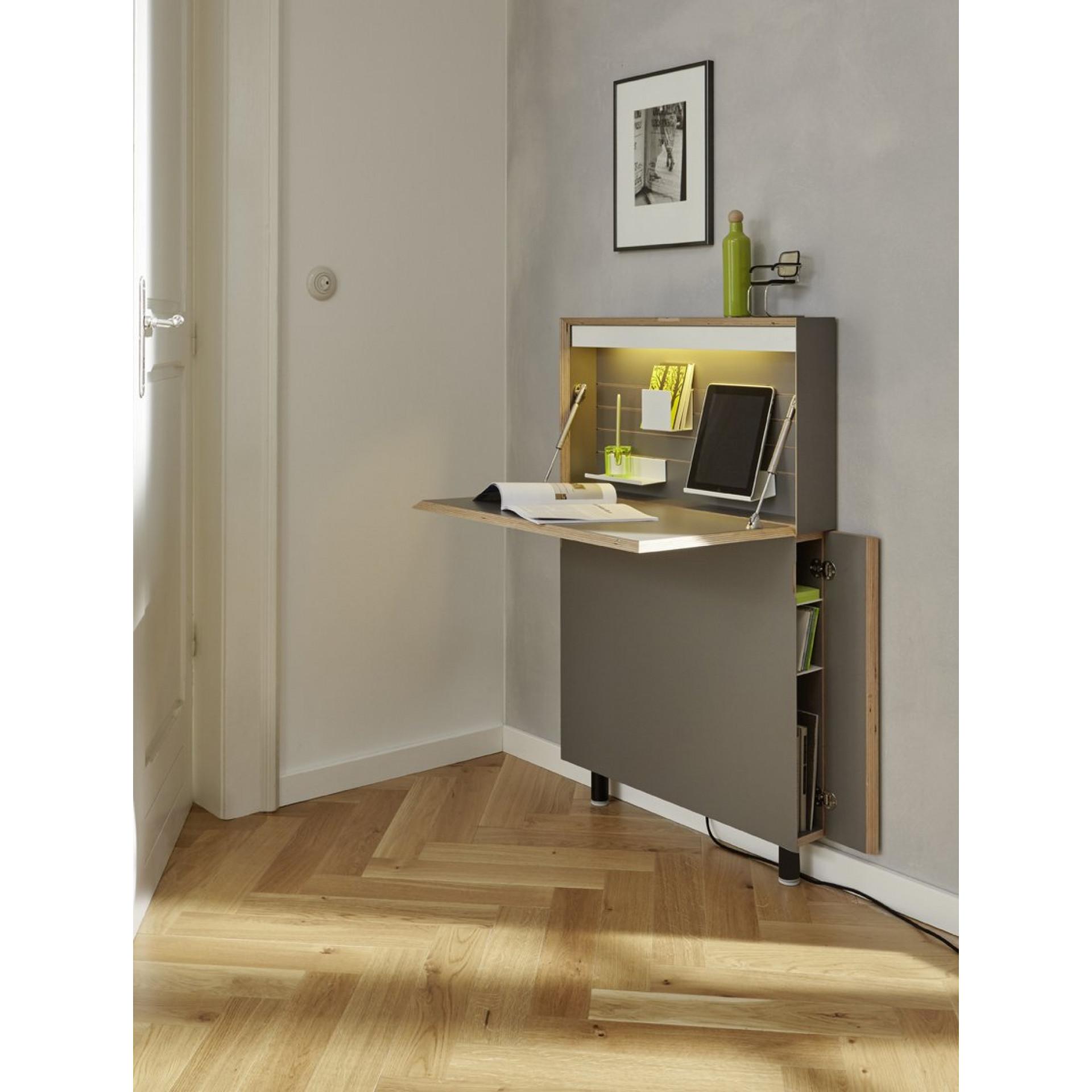 Schreibtisch Flatmate II | Anthrazit