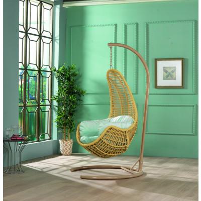 Schwingstuhl für Garten | Tower | Gelb
