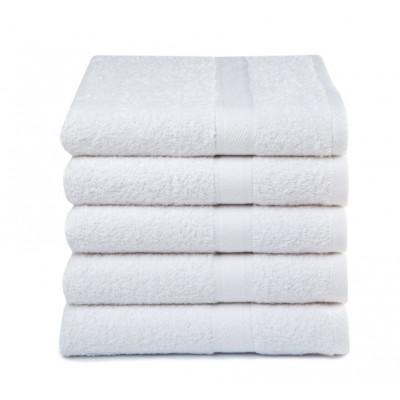 Badehandtücher 5er Set   Weiß