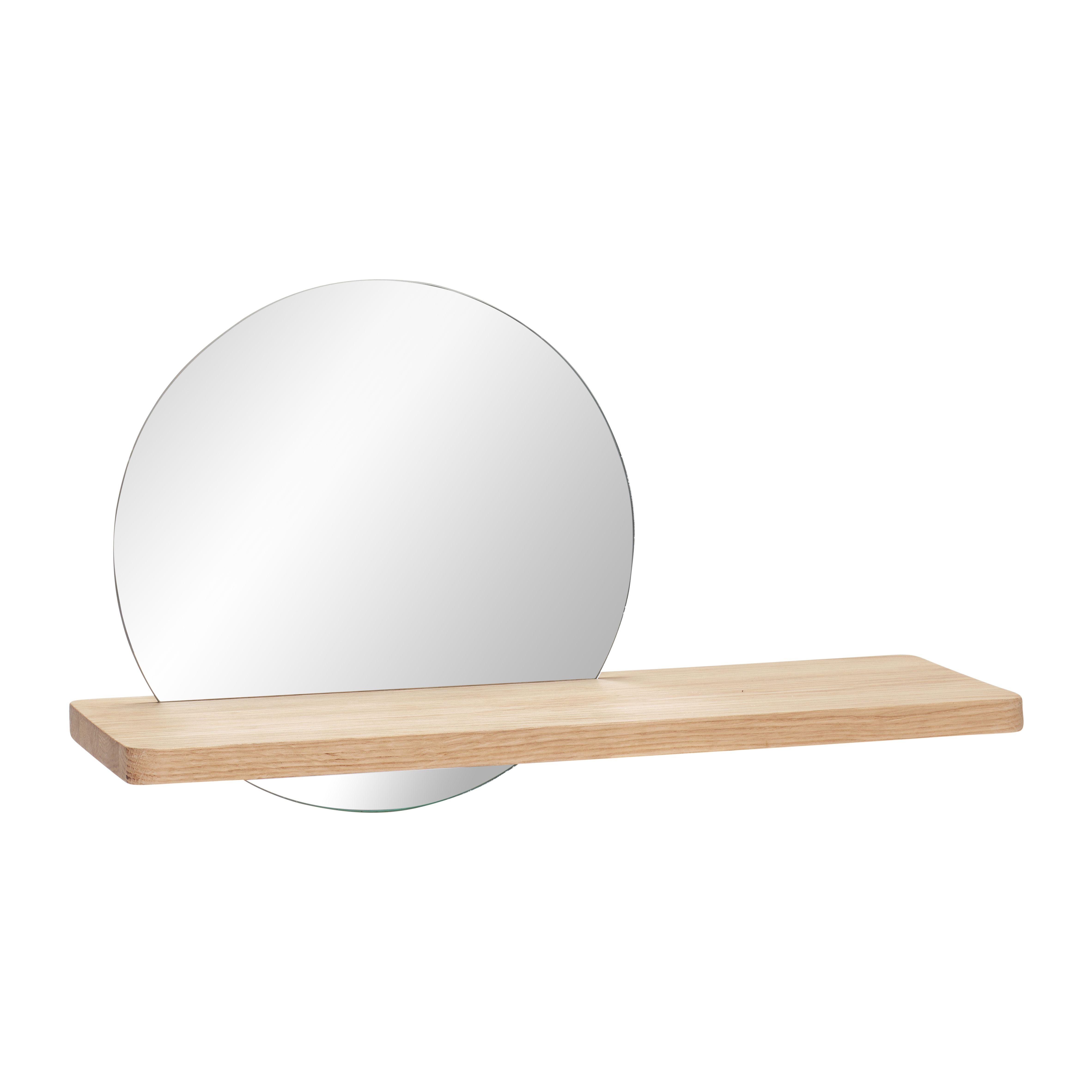 Shelf with Mirror