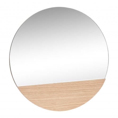 Spiegel rund   Holz