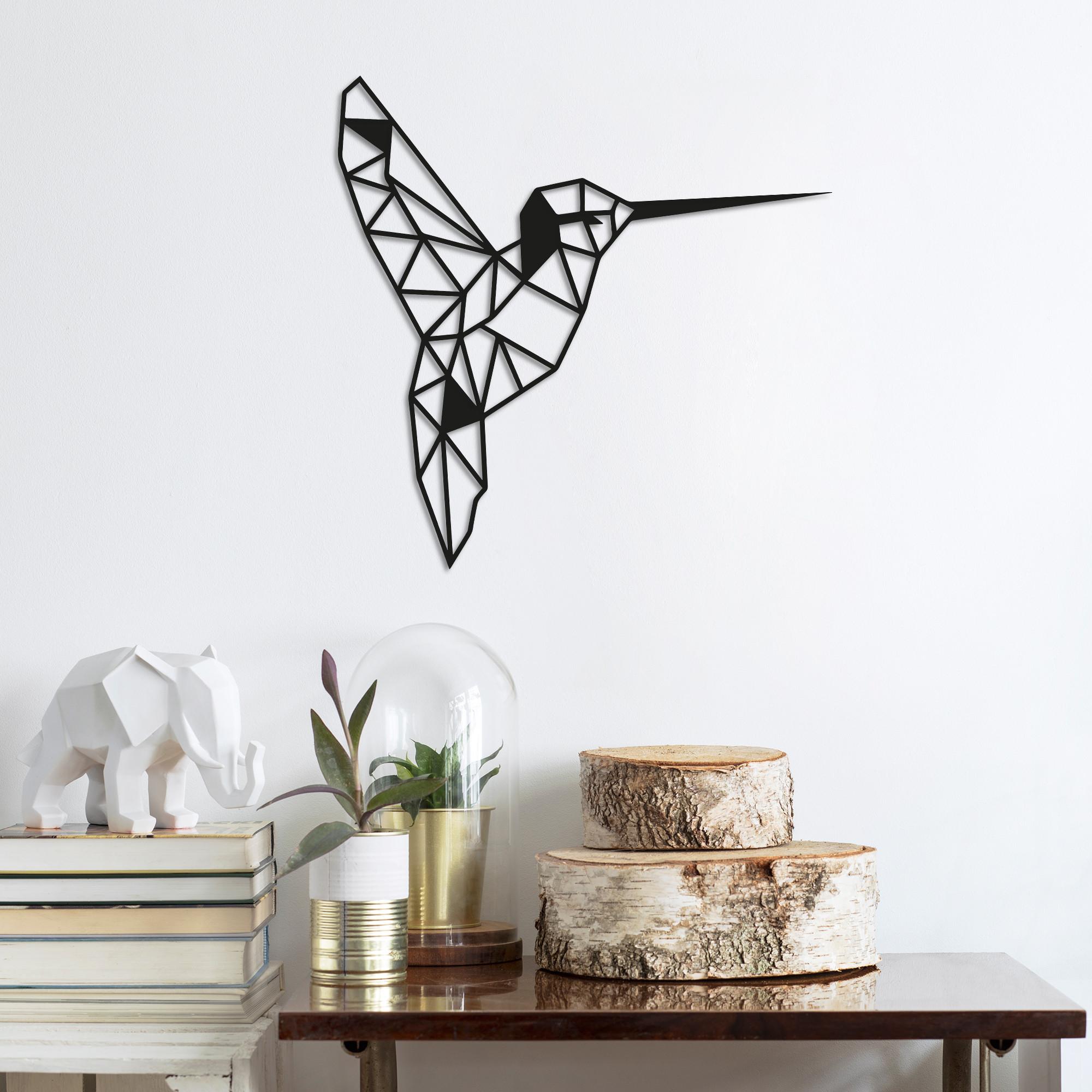 Wall Decoration Bird | Black