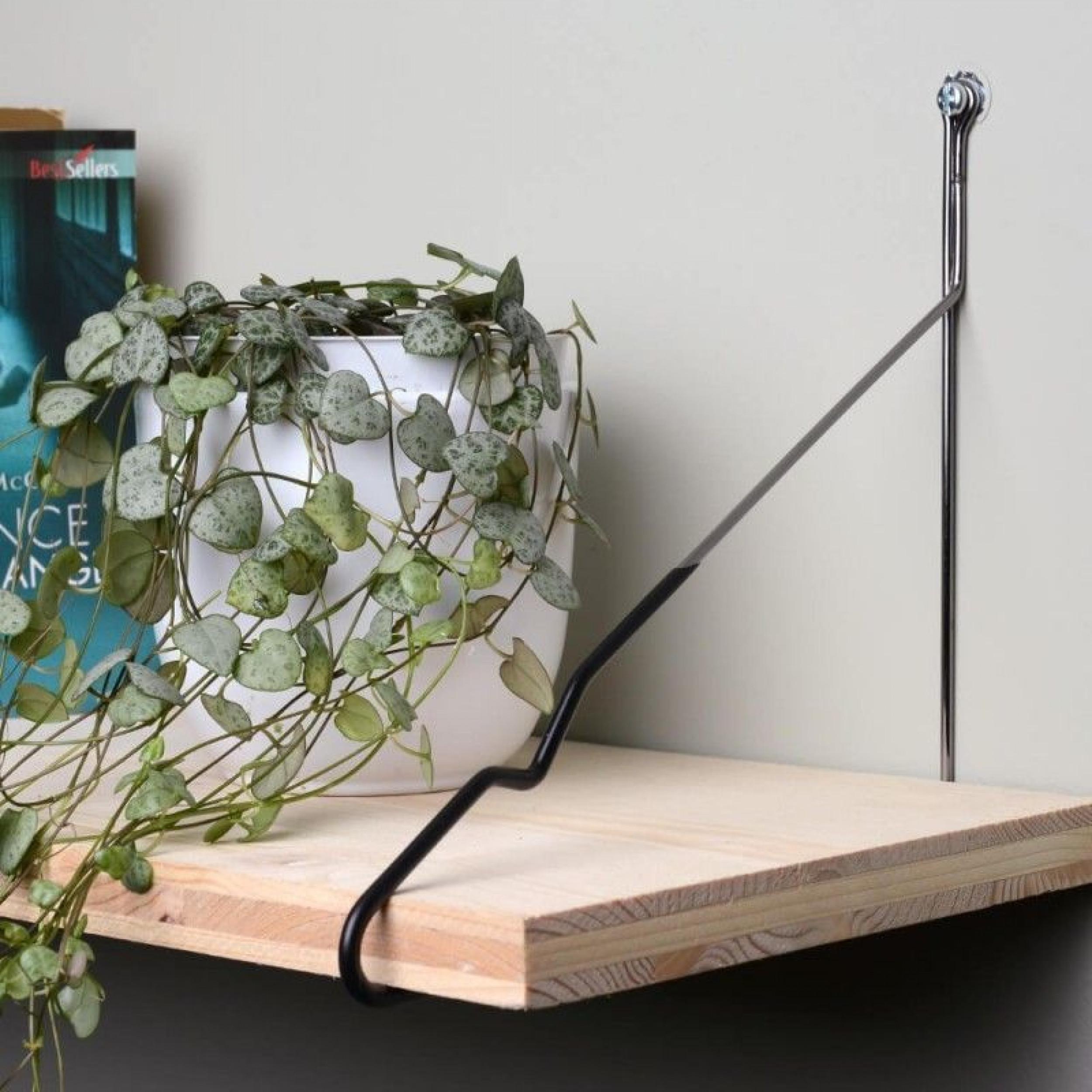 Shelf Brackets set of 2 | Anthracite