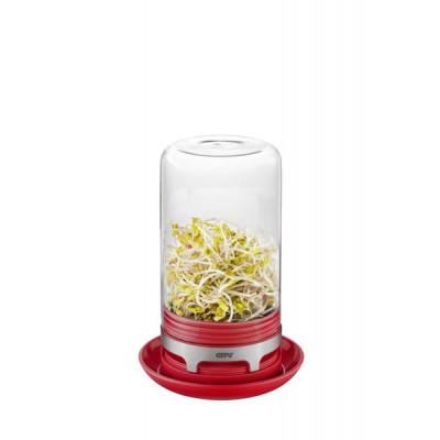 Gewächshaus Glas Bivita | Himbeerrot