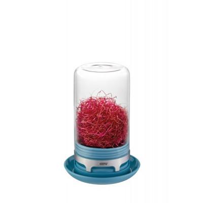 Gewächshaus Glas Bivita | Azurblau