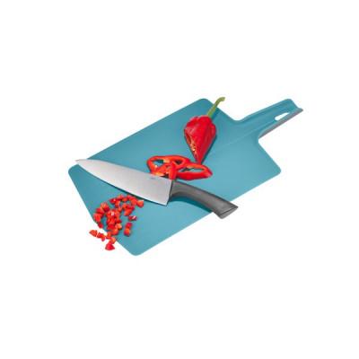Schneidebrett Lavos 47x26 cm | Azurblau