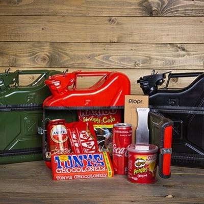 Geschenkpaket Jerrycan Bar 5 L | Rot