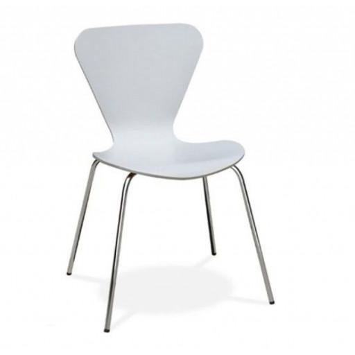 Chaise Danesa | Blanc