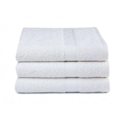 Badehandtücher 3er Set   Weiß