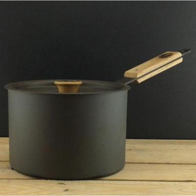 Eisen-Kasserolle mit Deckel | 20 cm