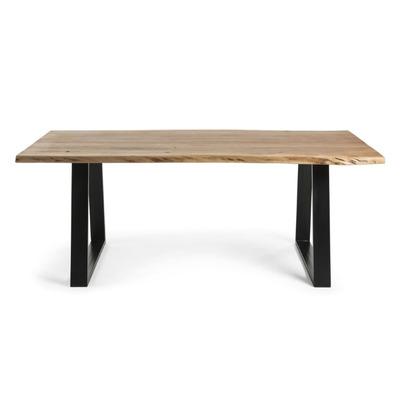 Tisch Sono   180 x 90 cm Massivholz Akazie Stahlbeine
