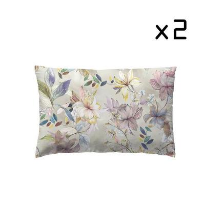 2er-Set Kissenbezug 50x75 cm I Fiorentina Cuarzo