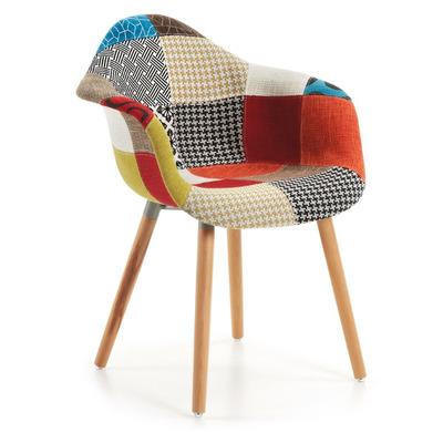 Sessel Kenna | Multicolour Patchwork