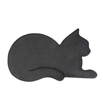 Fußmatte Katze | Grau