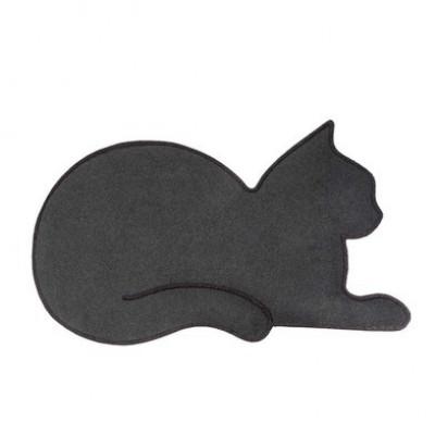 Fußmatte Katze   Grau