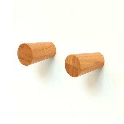 2er-Pack Wandhaken | Bambus