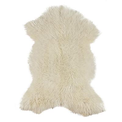Schaffell XL 110-130 cm | Weiß