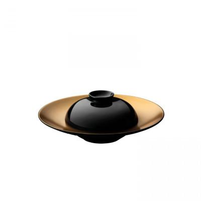 Teller und Schüssel Gem | Schwarz
