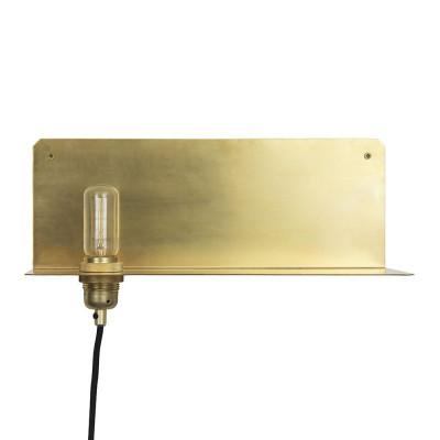 90° Wall Light   Brass