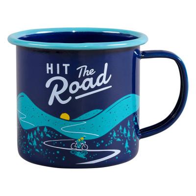 Mug Enamel | Hit The Road | Blue
