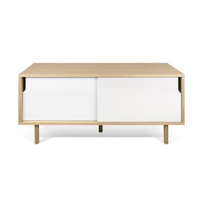 TV Table Dann   Oak & White