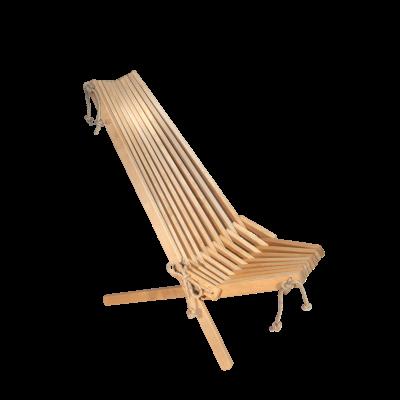 Outdoor Chair EcoChair Birch Oiled | Light Wood