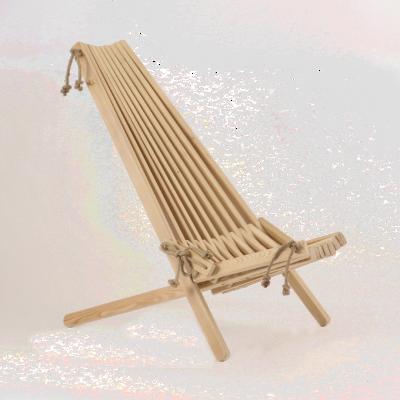 Outdoor Chair EcoChair Larch | Light Wood