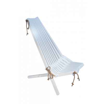 Outdoor Chair EcoChair Birch Painted   White
