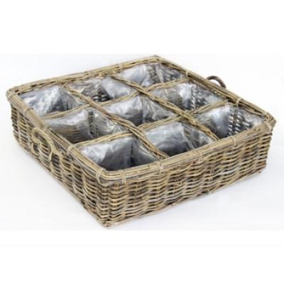Basket Herbs Large | Rattan