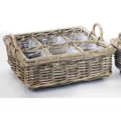 Basket Herbs Small | Rattan