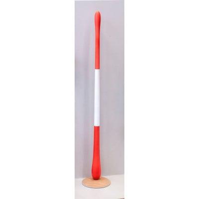 Toilettenpapierhalter farbig - rot, weiß, rot