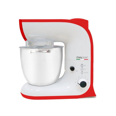Stand Mixer | White/Red