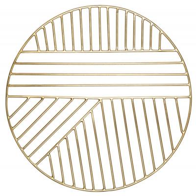 Vektor-Platzierungsmatte | Matt-Gold