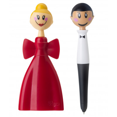 Tablet Pen & Magnetic Clip Dolls