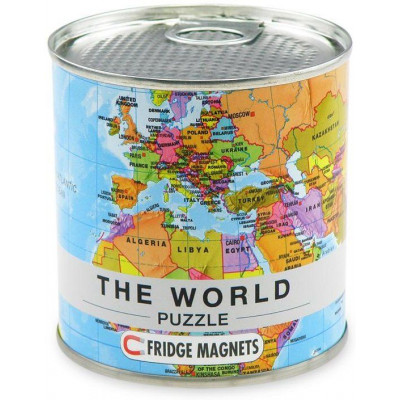 Magnetic Puzzle   The World