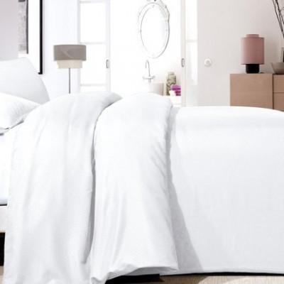 Bettbezug Satin Point   Weiß