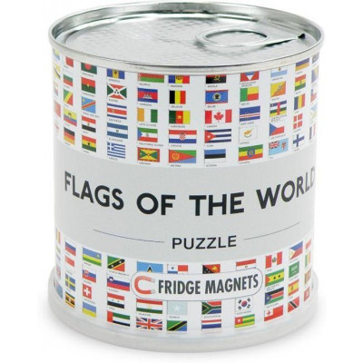 Magnetic Puzzle   Flags of the World