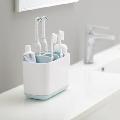 Zahnbürsten-Organiser Caddy Large | Blau & Weiß