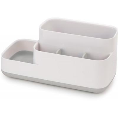 Badezimmer Organiser Caddy | Grau & Weiß