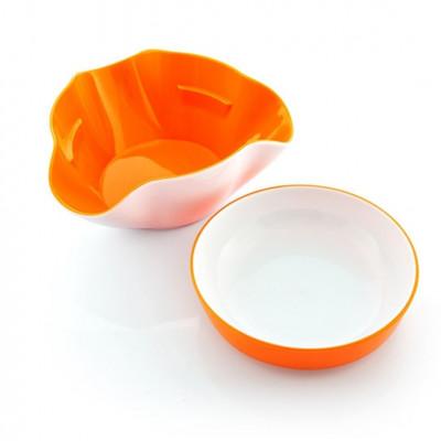Snack-Schale | 2er-Set | Orange