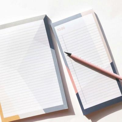 Notebook + Notepad Set of 2   Sunny Shapes