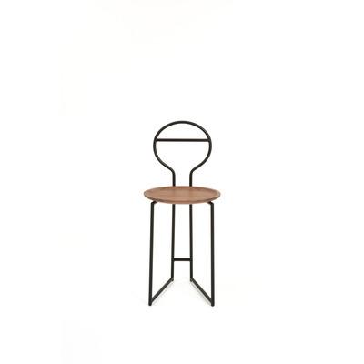 Chairdrobe Joly LB 38x86 cm I Black/Walnut