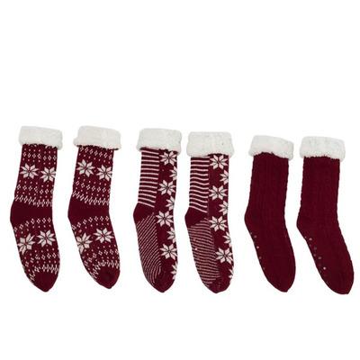 Socken 3 Paar | Rot