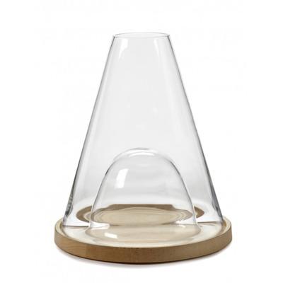 Vase Glockenglas Novacento | Transparant