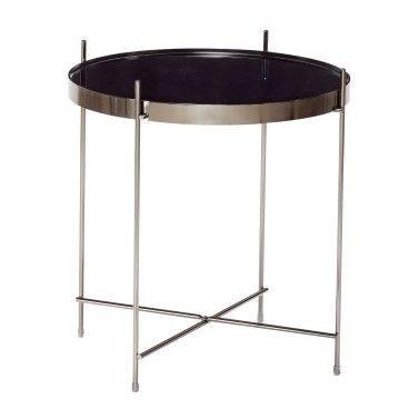 Side Table Ø 43 cm | Gun Metal
