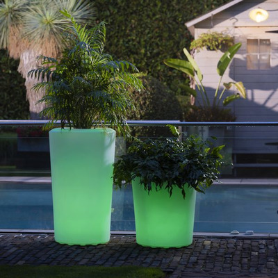 Blumentopf 600 Orchid LED/RGB