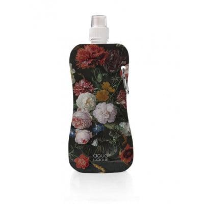 Water Bottle Flowers | Black