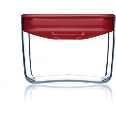 Lebensmittel-Aufbewahrungskiste Pantry Würfel | Rot-90 cl
